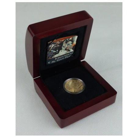 Nederland 2005 20 euro Regeringsjubileum Goud Proof In capsule