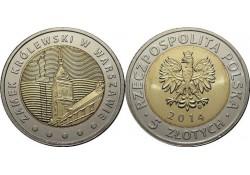 Y ??? Polen 5 Zlote 2014 Unc 25 jaar vrijheid