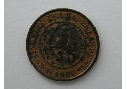 1/2 cent 1900 PR+