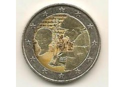 2 euro Nederland 2011 Erasmus Gekleurd in caspsule
