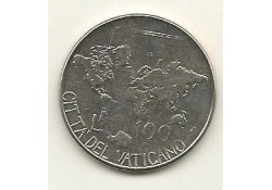 Km 188 100 Lire Vaticaan 1985 Unc-