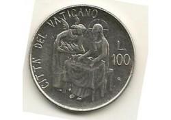 Km 158 100 Lire Vaticaan 1981 Unc-