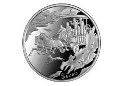 Letland 2014 5 Euro 4 jaargetijden Proof