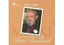 Nederland 2011 Themaset 100e geboortedag prins Bernhard
