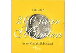Nederland 2006 Themaset 200 jaar munten
