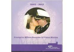 Nederland 2012 Themaset 10 jaar Huwelijk WA & Maxima