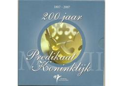 Nederland 2007 Themaset 200 jaar Predikaat Koninklijk