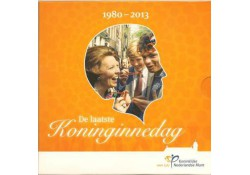 Nederland 2013 Themaset De laatste koninginnedag
