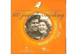 Nederland 2005 Themaset 60 Jaar bevrijding