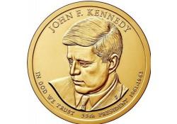 KM ??? U.S.A. 35 th President Dollar 2015 P John F. Kennedy