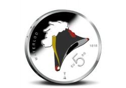 Nederland 2015 5 euro het Waterloo vijfje Gekleurd
