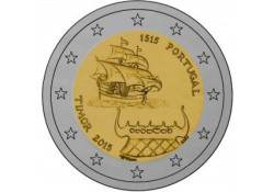 2 Euro Portugal 2015 Unc 500 jaar contact met Timor Voorverkoop*