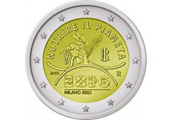 2 Euro Italië 2015 Expo Unc