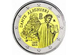 2 Euro Italië 2015 750e geboortedag van Dante Alighieri. Unc
