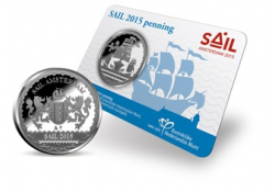 Sail Amsterdam 2015 Penning in Coincard