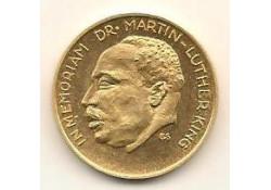 Penning goud in memoriam Dr Martin Luter King