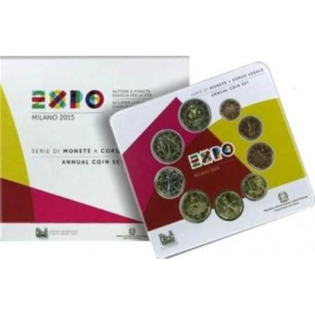 Bu set Italië 2014 met de 2 Euromunt Expo