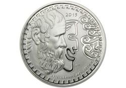 Griekenland 2015 10 euro Zilver Proof Aristophanes
