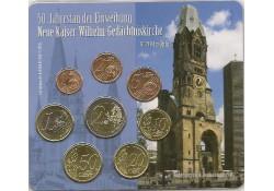 Duitsland 2011 J Bu set 50e jahrestag der Einweihung Neue Kaiser-Wilhelm-Gedächtniskirche