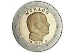 Monaco 2015 2 euro Unc