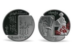 "Letland 2015 5 Euro ""Rainis..."