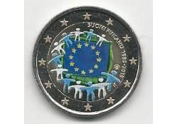 2 Euro Finland 2015 Europese Vlag Unc Gekleurd
