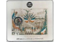 2 Euro Frankrijk 2015 Vrede Bestorming van de Bastille Unc