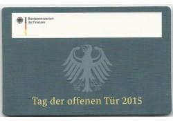 1 Cent Duitsland 2015 A Bu in coincard