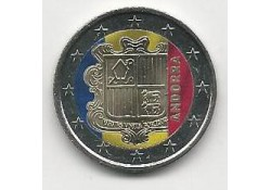 2 Euro Andorra 2014 Gekleurd