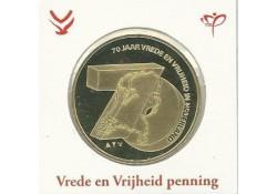Penning 70 jaar Vrede en Vrijheid in Nederland