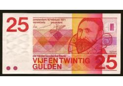 84-1 P92a 25 Gulden Nederland Pr