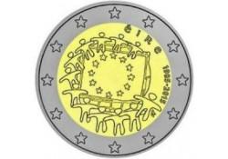 2 Euro Ierland 2015 Europese Vlag Unc