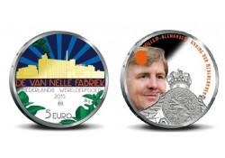 Nederland 2015 5 euro van Nelle Vijfje Gekleurd voorverkoop*