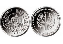 25 euro Duitsland 2015 25 jaar Duitse eenheid