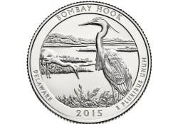 KM ??? U.S.A ¼ Dollar Bombay Hook 2015 P Unc