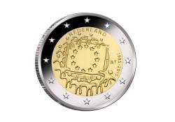 Nederland 2015 2 Euro Europese Vlag Unc