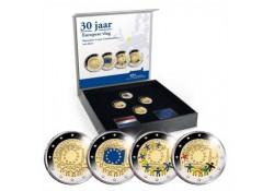 Nederland 2015 2 Euro Europese Vlag Bu in Coincard Voorverkoop*