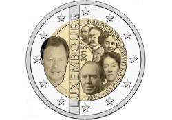 2 Euro Luxemburg 2015 Dynasty UNC