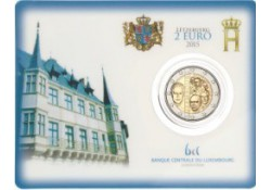 2 Euro Luxemburg 2015 Dynasty Bu in coincard