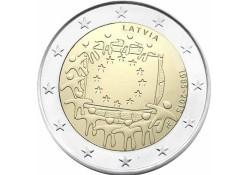 2 Euro Letland 2015 Europese Vlag Unc Voorverkoop*