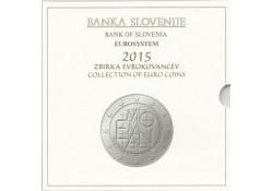Bu set Slovenië 2015 Met de 2 & 3 euromunt