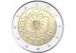 2 Euro Luxemburg 2015 Europese vlag Unc