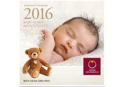 Bu set Oostenrijk 2016 Babyset met de 2 euro 200 jaar nationale bank