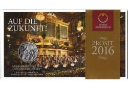 5 Euro Oostenrijk 2016 Nieuwjaarsconcert Unc