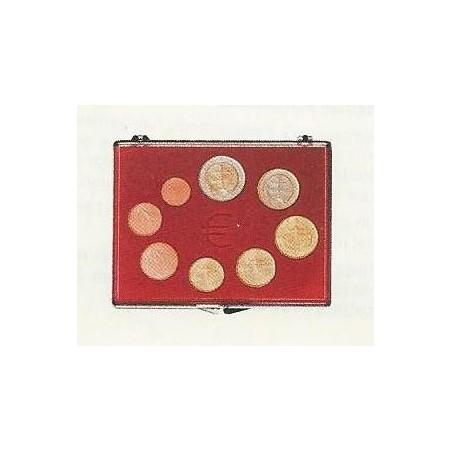 Cassette voor 1 serie Euromunten