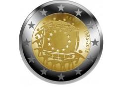 2 euro Estland 2015 Europese Vlag Unc