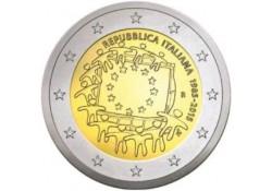 2 euro Italië 2015 Europese Vlag Unc Voorverkoop*