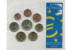 set Griekenland 2002 Unc...