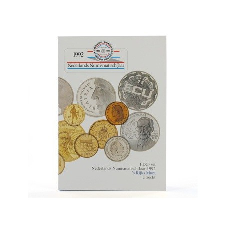Holland Coin Fair set 1992 Numismatisch jaar