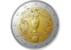 2 Euro Frankrijk 2016 Ek voetbal 2016 Unc